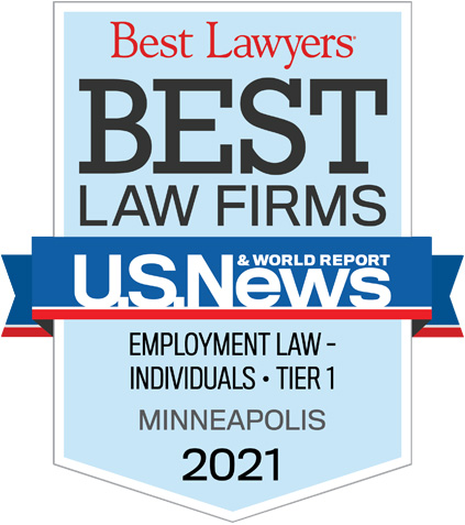 Best Lawyers in Minnesota Badge